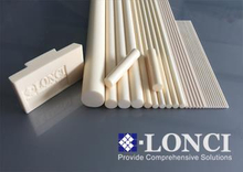High Temperature Extruded Customized Alumina Rods